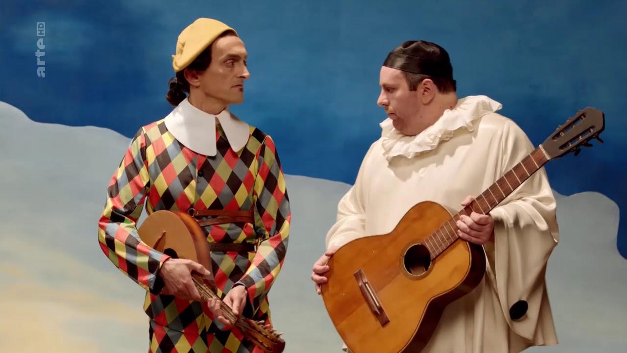 Arlequin et Pierrot, André Derain 1 3 - YouTube