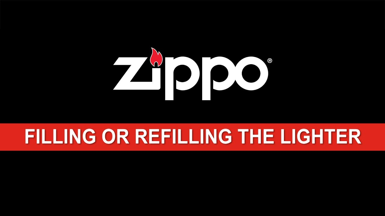 Zippo Instructional: Filling or Refilling the Lighter