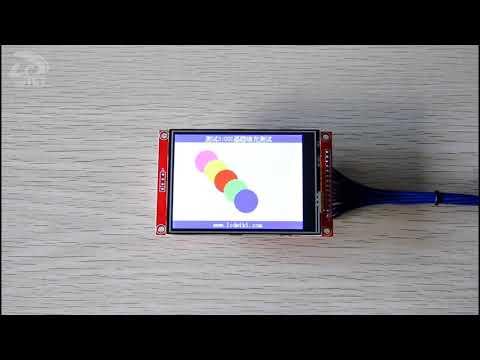 3 2inch SPI Module ILI9341 SKU:MSP3218 - LCD wiki
