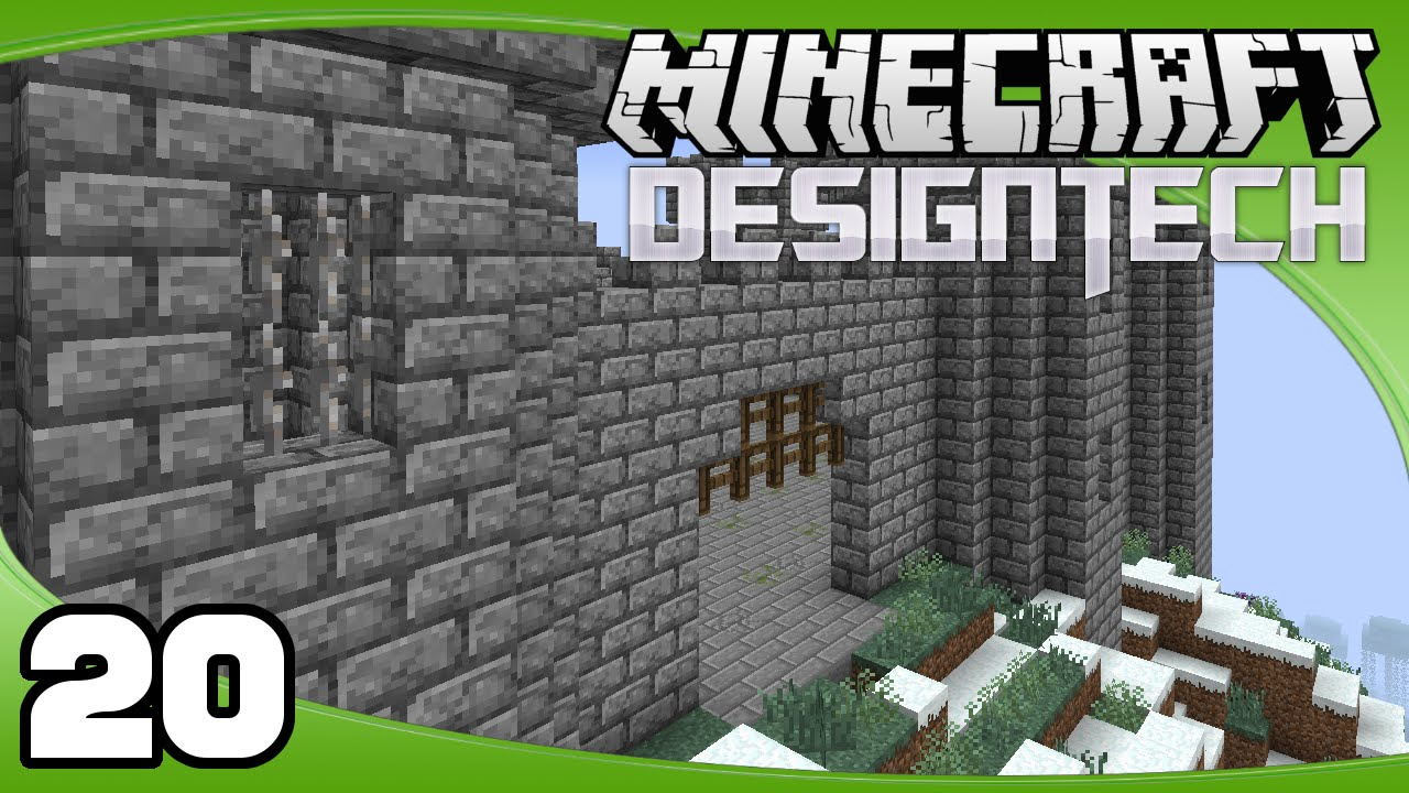 Designtech Ep 20 Castle Floor Gate Minecraft Custom