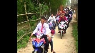 Rước dâu thành viên CLUB Exciter 150 Hà Nội tại Bắc Giang ngày 31 tháng 3 năm 2015
