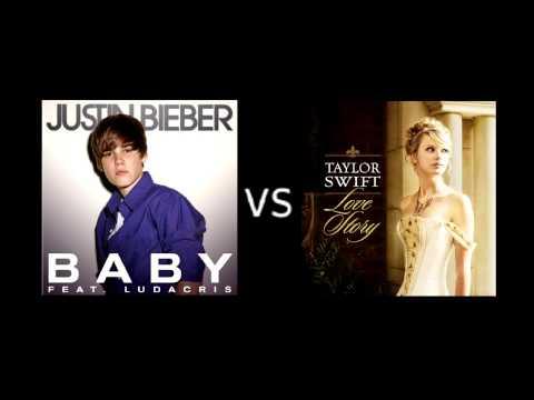 "[DJ NiKiM Remix] Justin Bieber ""Baby"" vs. Taylor Swift ""Love Story"" Mashup"