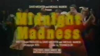 Midnight Madness 1980 TV trailer