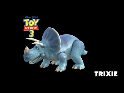 TOY STORY 3 - introducing Trixie from Disney Pixar - On ...