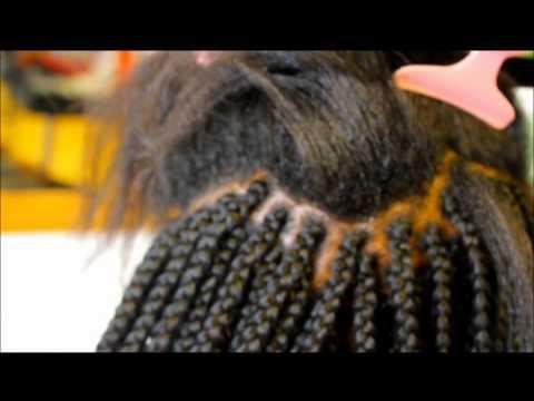 Box Braids Com Linha De Croche : Como Fazer Trancas Rastafari Box Braids Doovi