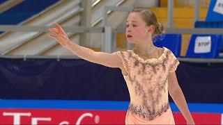 Мария Захарова Произвольная программа Кубок России по фигурному катанию 2020 21 Второй этап