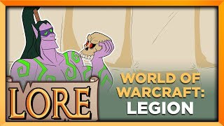 "WORLD OF WARCRAFT: LEGION | LORE in a Minute! | 2016 WoW Expansion | Jake ""The Voice"" Parr 