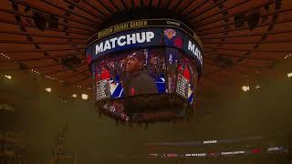 New York Knicks 2018-2019 Intro (vs. Toronto Raptors)