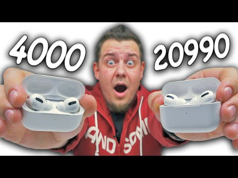 Копия Apple Airpods Pro за 4000 Рублей, Которая Смогла! Сравнение с Оригиналом