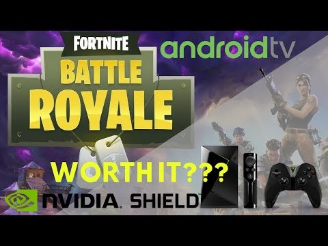 Play Fortnite On Nvidia Shield Android TV With GeForce Now