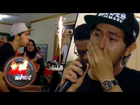 Ultah ke-25, Cakra Khan Bertabur Tangis Haru - Hot Shot 28 Februari 2016