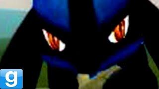 HAUNTED BY LUCARIO! Gmod Pokemon Mod (Garry