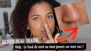 Empêcher le fond de teint de creaser sur le nez ? 🤔| Crash-test/Astuce