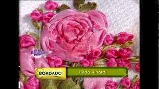Hilda Rinaldi - Bienvenidas TV - Toallas bordadas con Cintas