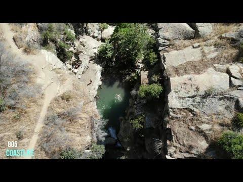 HIKING ADVENTURE, SANTA PAULA PUNCHBOWLS, CALIFORNIA CRAZY TRAILS, CLEAR RIVER
