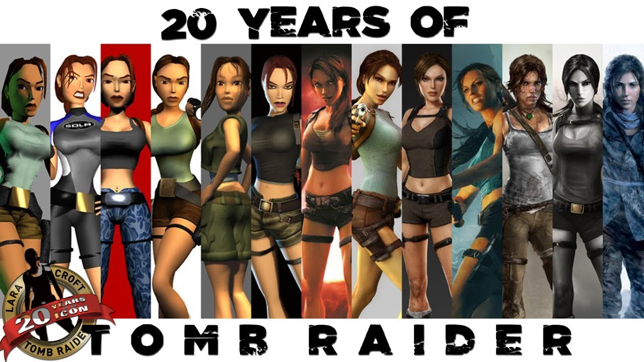 Lara Croft Tomb Raider The 20 Years Movie 1996 2016 Youtube