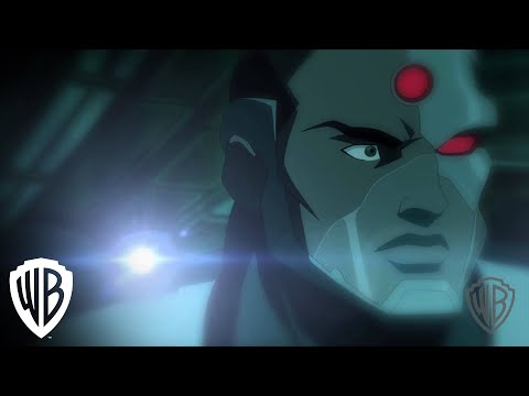 Justice League: Throne of Atlantis - Cyborg Attacked