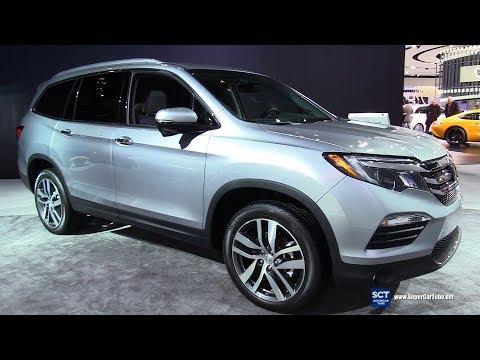 2017 Honda Pilot Touring - Exterior and Interior Walkaround - 2017 Detroit Auto Show