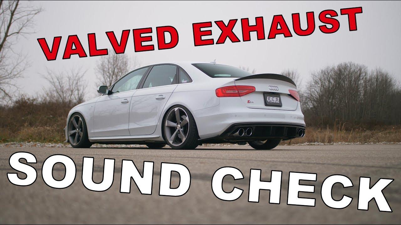 ECS Tuning // Audi B8 S4 Valved Exhaust System