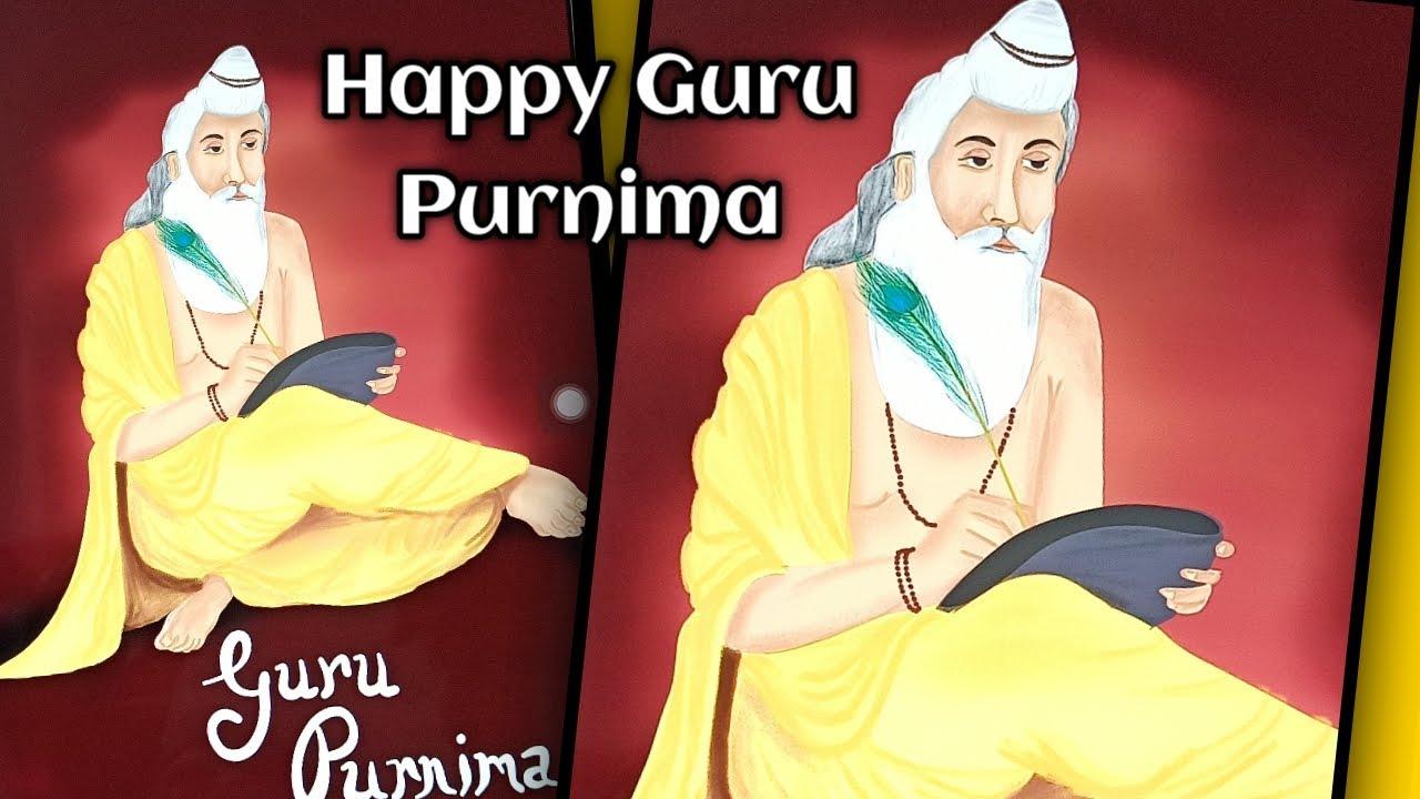 Guru Purnima Special   Guruji's Drawing   Digital Drawing