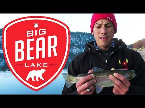 Big Bear Lake Fishing | Lucky Hooker | Early February 2020