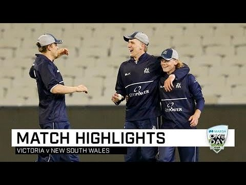 Short, Siddle Star As Vics Keep NSW At Bay | Marsh One-Day Cup 2019