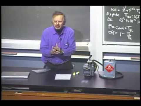 UC Berkeley Physics 10 Lecture 01 Atoms and Heat