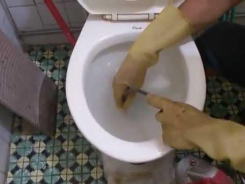 包通馬桶不通~馬桶阻塞包通~0912099644~大臺北縣市 - YouTube