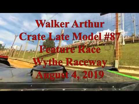 Walker Arthur Feature Race at Wythe Raceway - 8/4/9