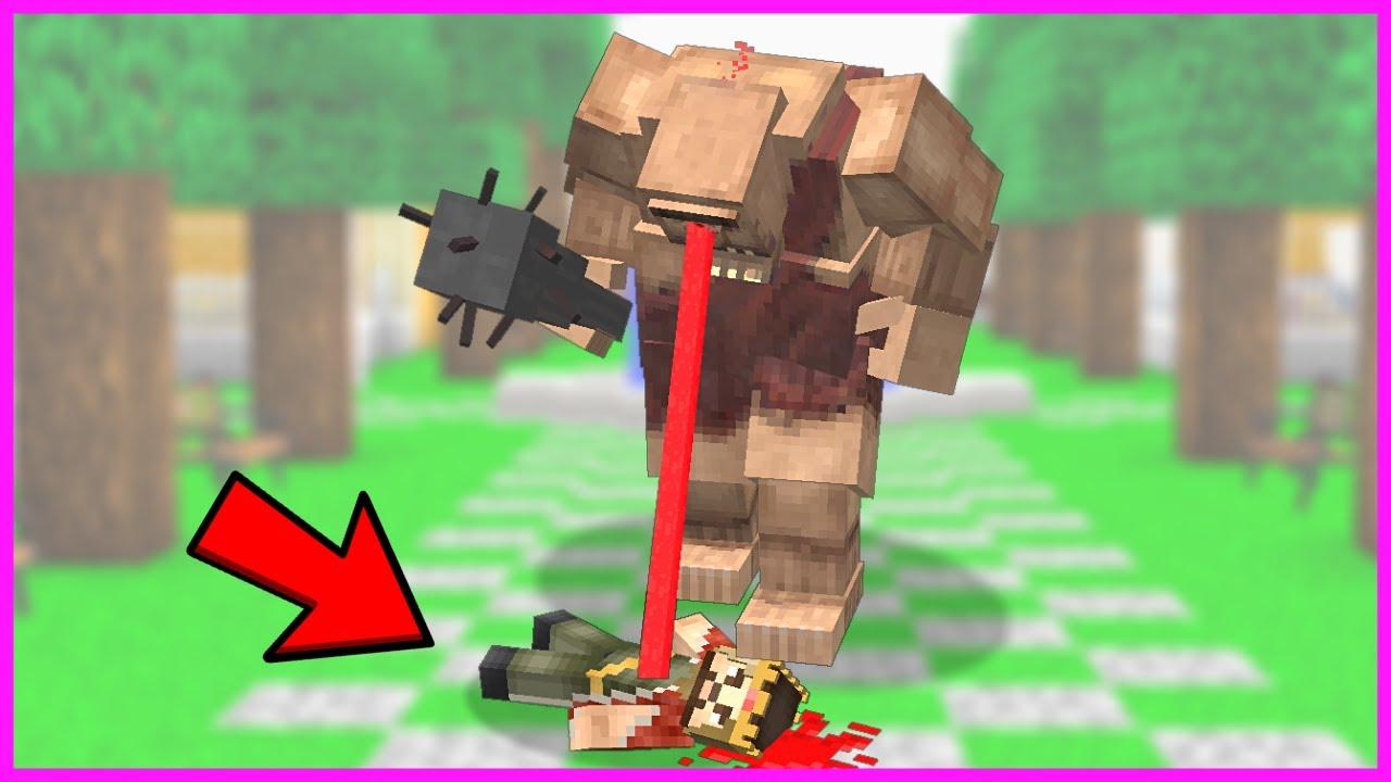 KORKUNÇ TEPEGÖZ ZENGİNE SALDIRIYOR! 😱 - Minecraft
