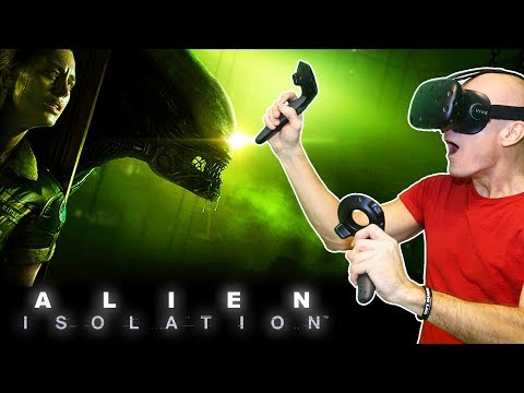 PLAY ALIEN ISOLATION ON HTC VIVE IN VIRTUAL REALITY! | New VR MOD Update with Vive Support