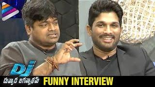 Allu Arjun about Pawan Kalyan and Gabbar Singh | Harish Shankar | Duvvada Jagannadham Interview