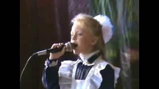КОГДА ЯБЛОНИ ЦВЕТУТ маленькая девочка супер исполняет песню(Лілія СЕЛИХ 9 травня ДЕНЬ ПЕРЕМОГИ Шарапанівка., 2013-11-10T08:40:55.000Z)