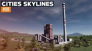 Cities Skylines 2019 | #08 | Elektrownia węglowa