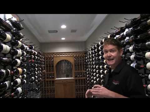 A Contemporary Home Wine Cellar Tour & Walkthrough | Harvest Wine Cellars and Saunas