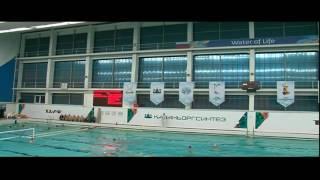 Водное поло. Молодёжная сборная Ленинградской области - Синтез 02.11.2016