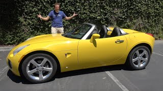 The Pontiac Solstice Was a Better Miata from General Motors
