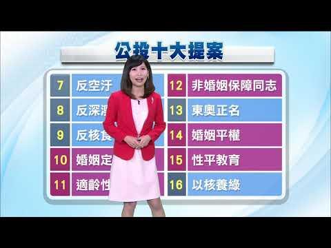 【公投投什麼】解析公投十案總結—公視早安新聞 Good Morning Taiwan