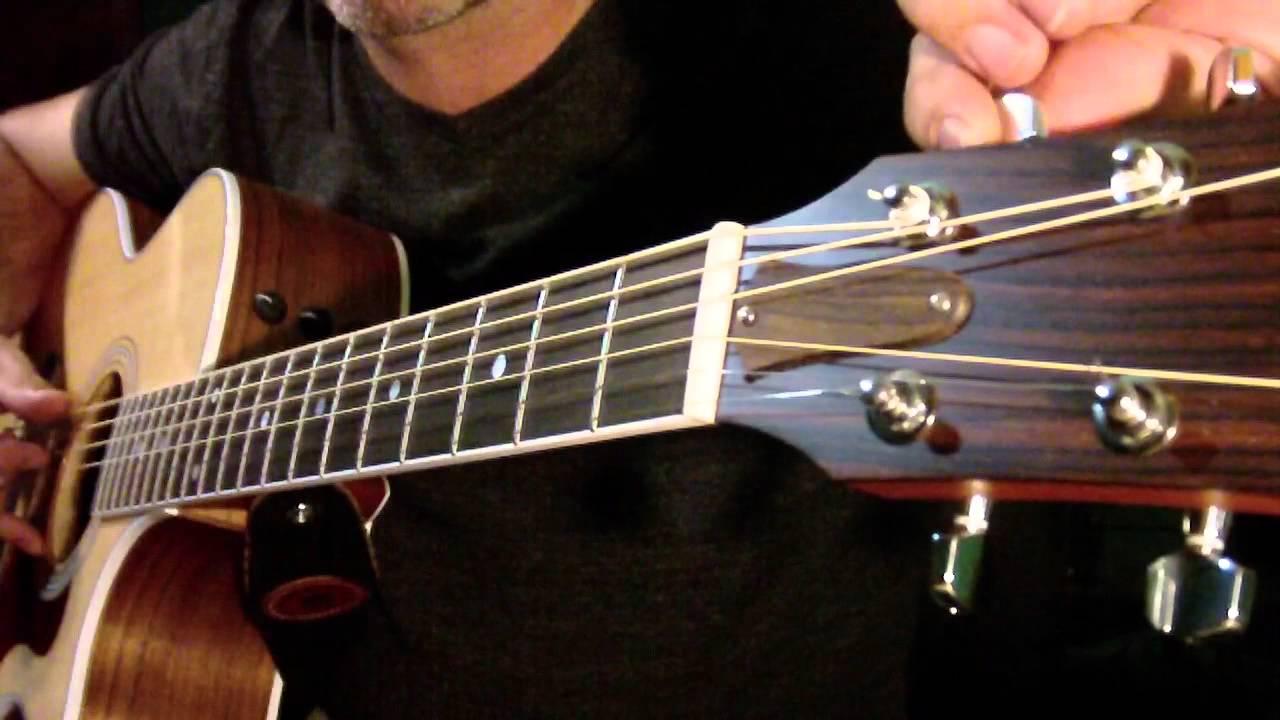 g tuning slide guitar easy guitar lesson youtube. Black Bedroom Furniture Sets. Home Design Ideas