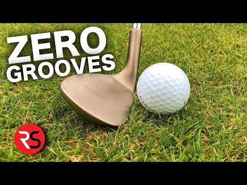 I've never seen ANYTHING like it..... THE GROOVELESS GOLF WEDGE