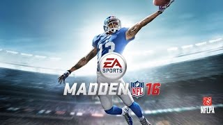 Let's Play Madden NFL 16 [PS4]