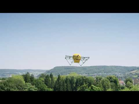 Swiss Post Parcel Delivery With Drones from Skycart