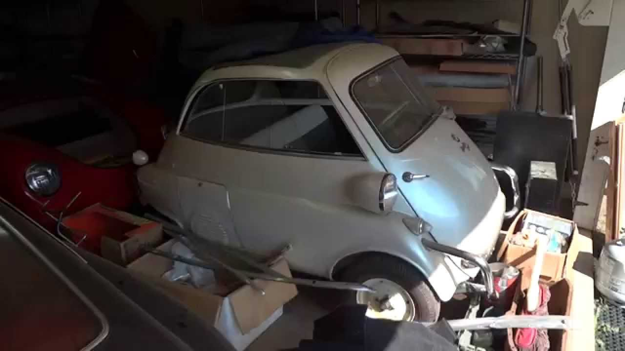 Barn Find Private Collection Of RARE Cars For Sale Isetta Mustang Vetta Intermeccanica