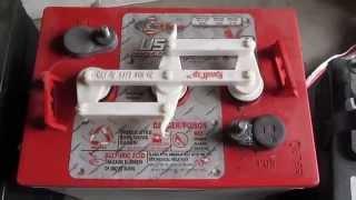 DIY Maintenance: Solar Power Golf cart battery bank system