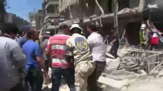 هدنة_حلب .. هدوء حذر واحتجاجات على الحصار