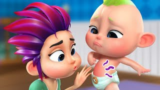 Boo Boo Song. This Is The Way. Where Did You Go | Nursery Rhymes For Kids Best EDUCATIONAL Songs