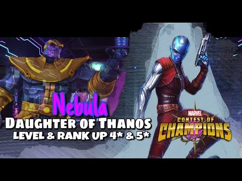 Rank & Level Nebula 4 Star & 5 Star  | Marvel Contest of Cha