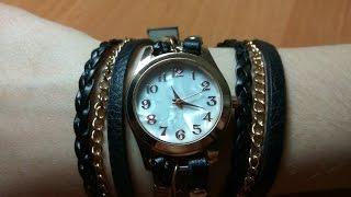 Женские часы-браслет из Китая. Распаковка, обзор, fix