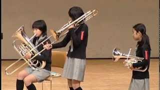 小栗小金管バンド部-第37回九州アンサンブルコンテスト2012 thumbnail