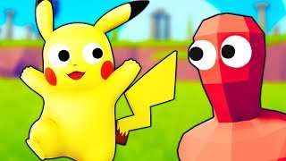 I Choose You Pikachu and Here's What Happens - Totally Accurate Battle Simulator